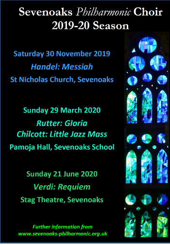 Concerts for 2019-20 season